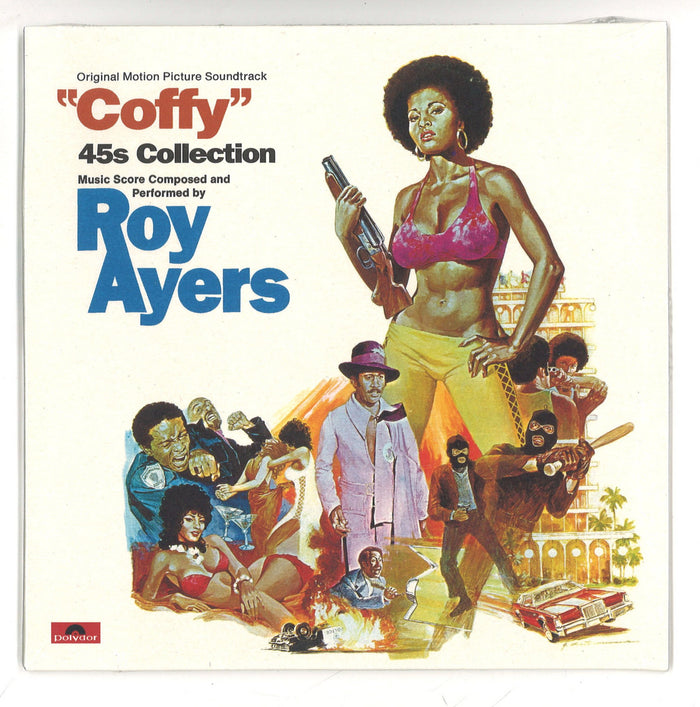 "Dynamite Cuts Roy Ayers ""Coffy"" 45s Collection"