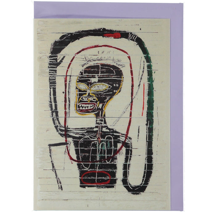 Acme Card Co Basquiat Art Silk Greeting Card