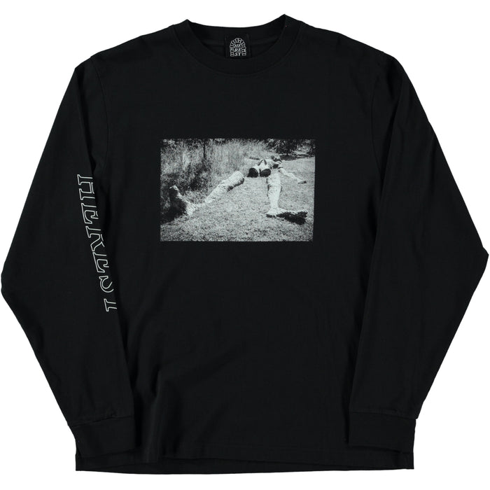 Heresy Dismembered God Longsleeve Tee Black