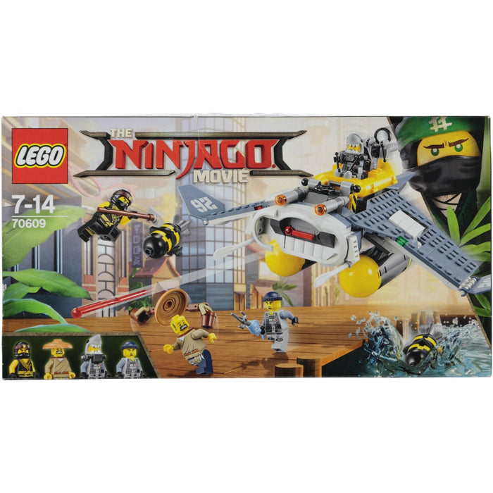 Lego Set 70609 The Ninjago Movie Manta Ray Bomber