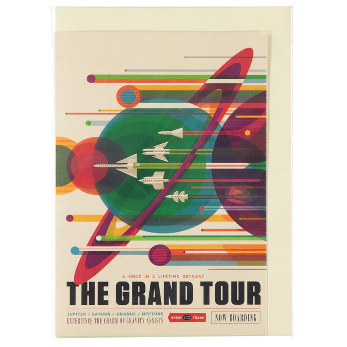 Acme Card Co The Grand Tour Silk Greeting Card