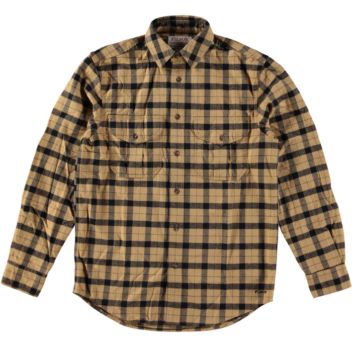 Filson Alaskan Guide Shirt Camel Black