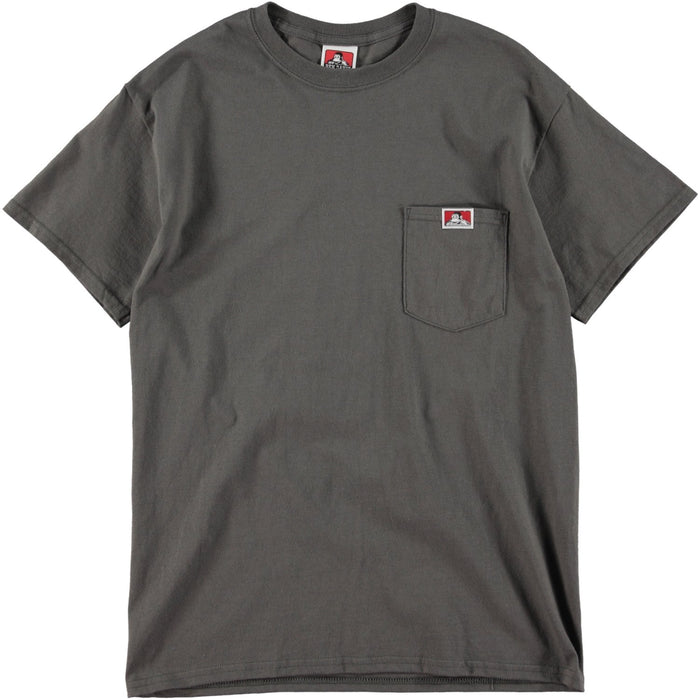 Ben Davis Patch Logo Pocket Tee Charcoal
