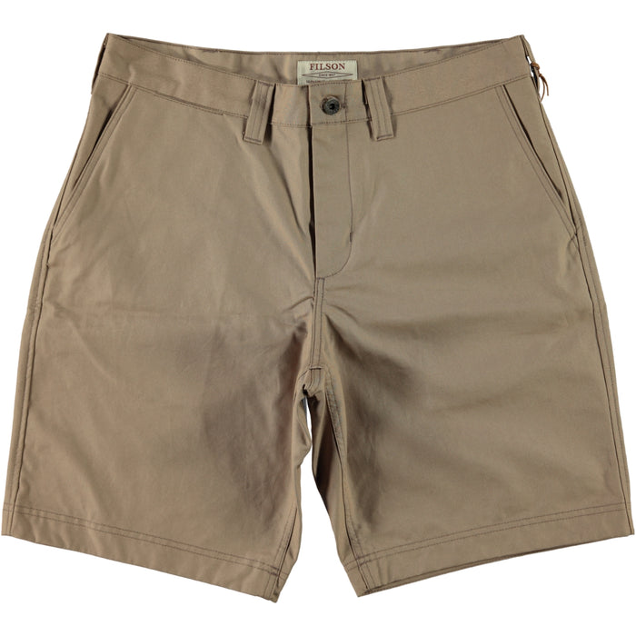 Filson Dry Shelter Cloth Shorts Camel