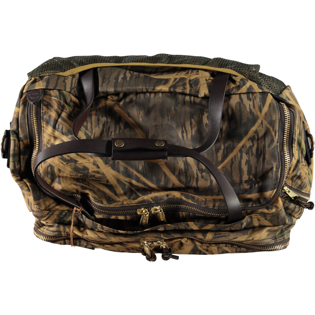 Filson X Mossy Oak Tin Cloth Excursion Bag Shadow Grass