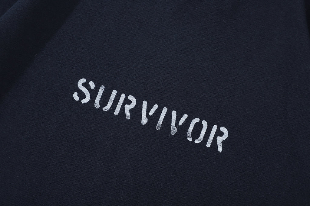 Club Stubborn Survivor Tee Navy