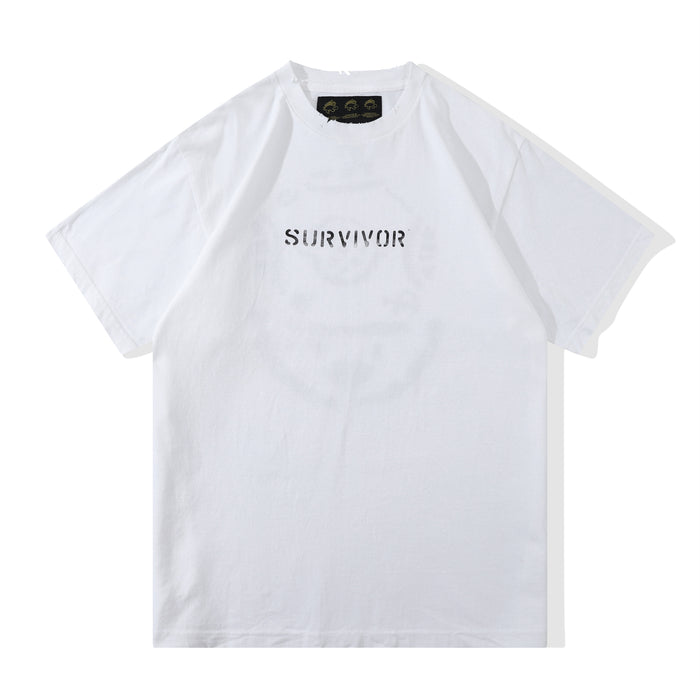 Club Stubborn Survivor Tee White