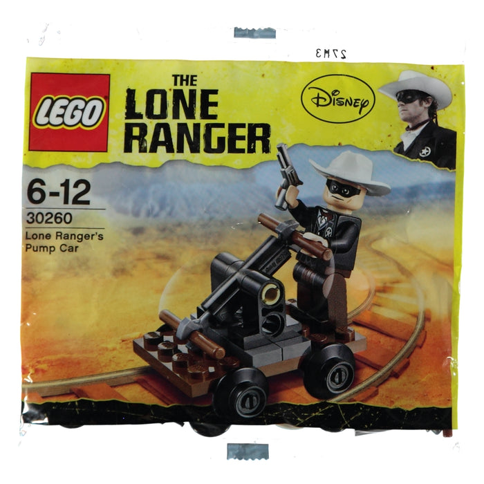 Lego Polybag 30260 The Lone Ranger's Pump Car