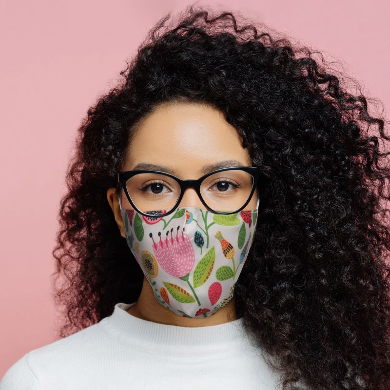 Autumn Falls Reusable Face Covering - Adults