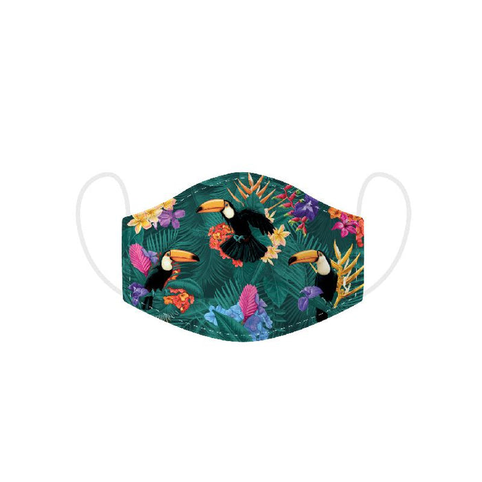 Toucan Party Reusable Face Covering - Adults