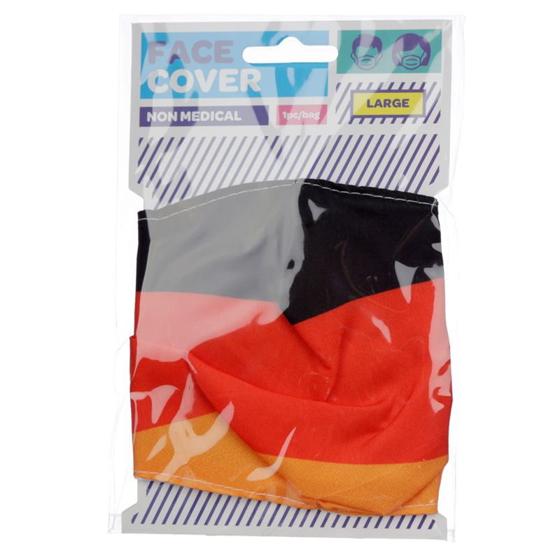 German Flag Reusable Face Covering - Adults