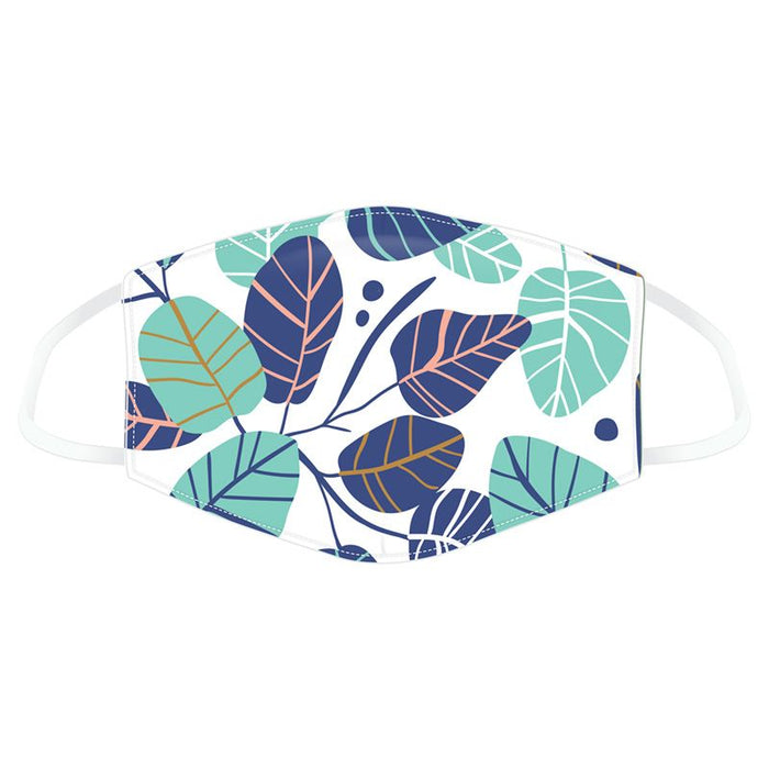 Simple Leaves Reusable Face Covering - Adults