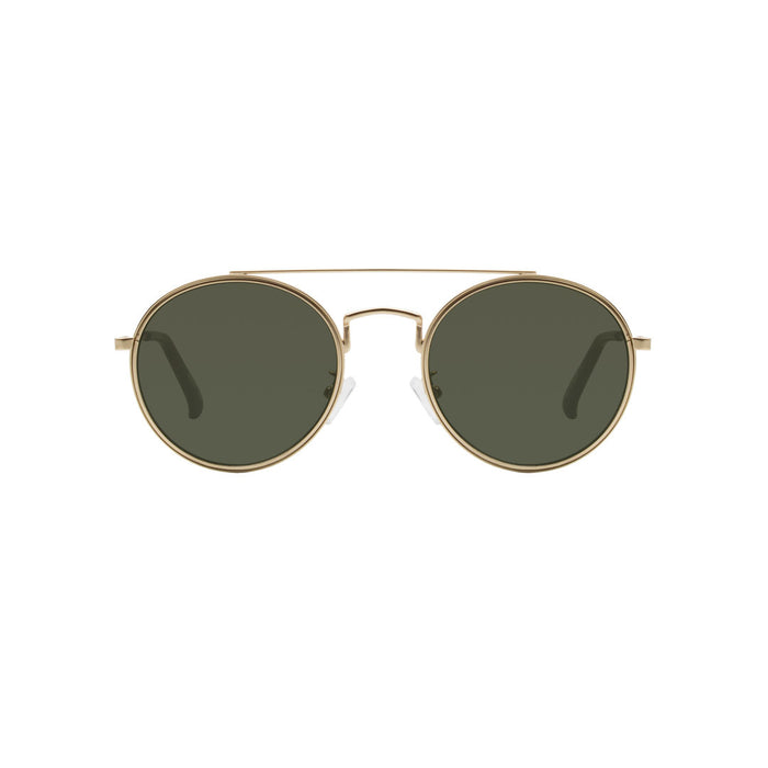 A Kjaerbede Sunglasses Pilot Gold (Green)