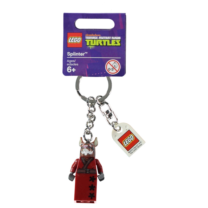 Lego Keyring 850838 Teenage Muntant Ninja Turtles Splinter