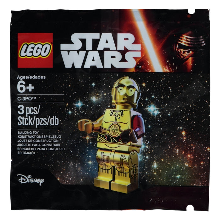 Lego Polybag 5002948 Star Wars C-3PO with Red Arm