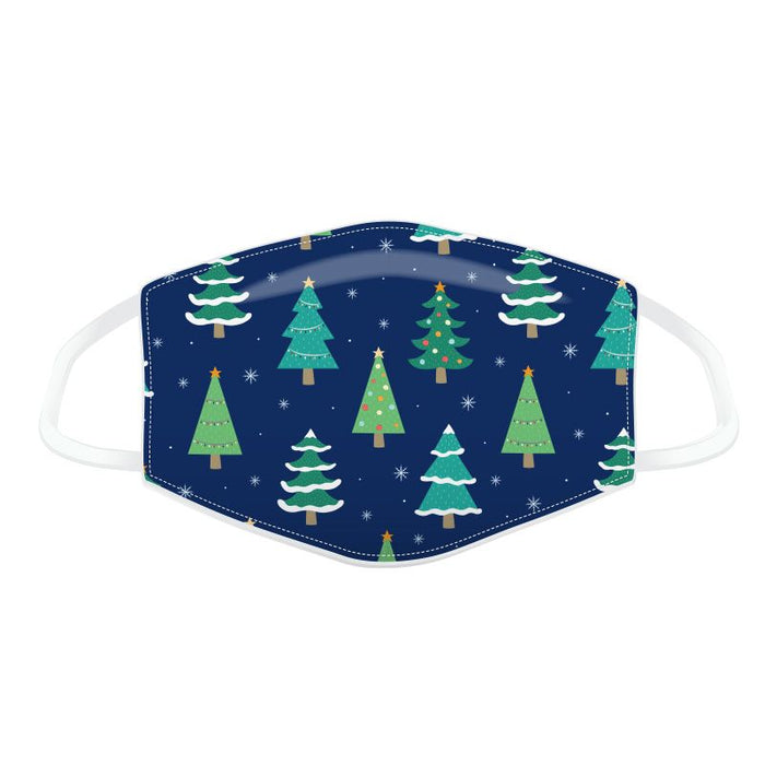 Christmas Trees Reusable Face Covering - Adults