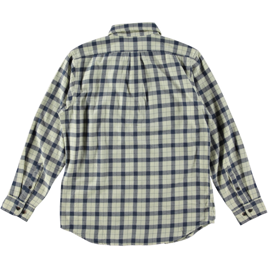 Filson Light Weight Alaskan Guide Shirt Natural Blue Heather