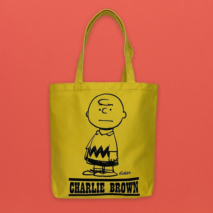 Magpie x Peanuts Heavy Duty Tote Bag Charlie Brown