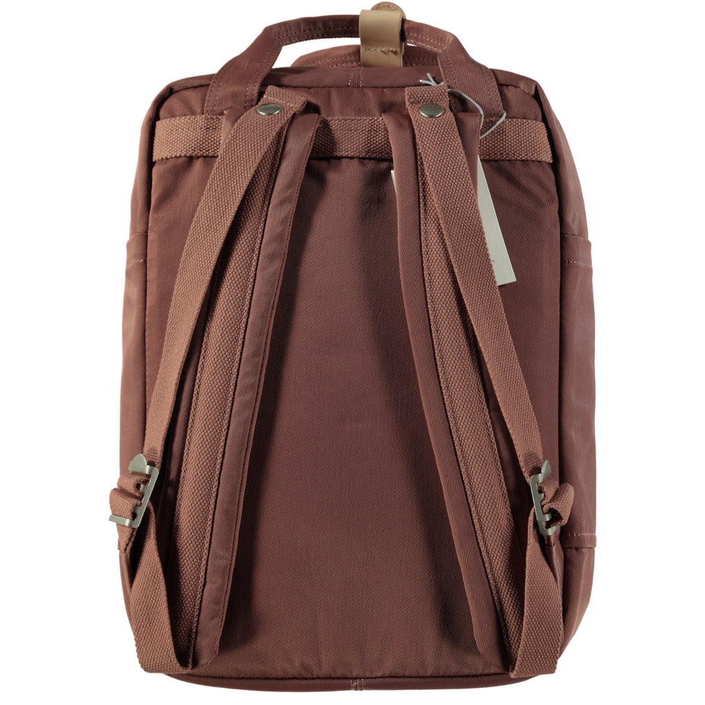 Doughnut Macaroon Backpack Bag Chestnut x Almond