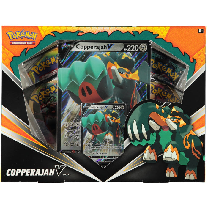 Pokemon TCG Sword & Shield Copperjah V Collection Box