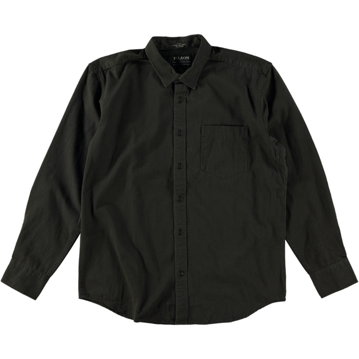 Filson 6.5 oz Chino Shirt Winter Brown