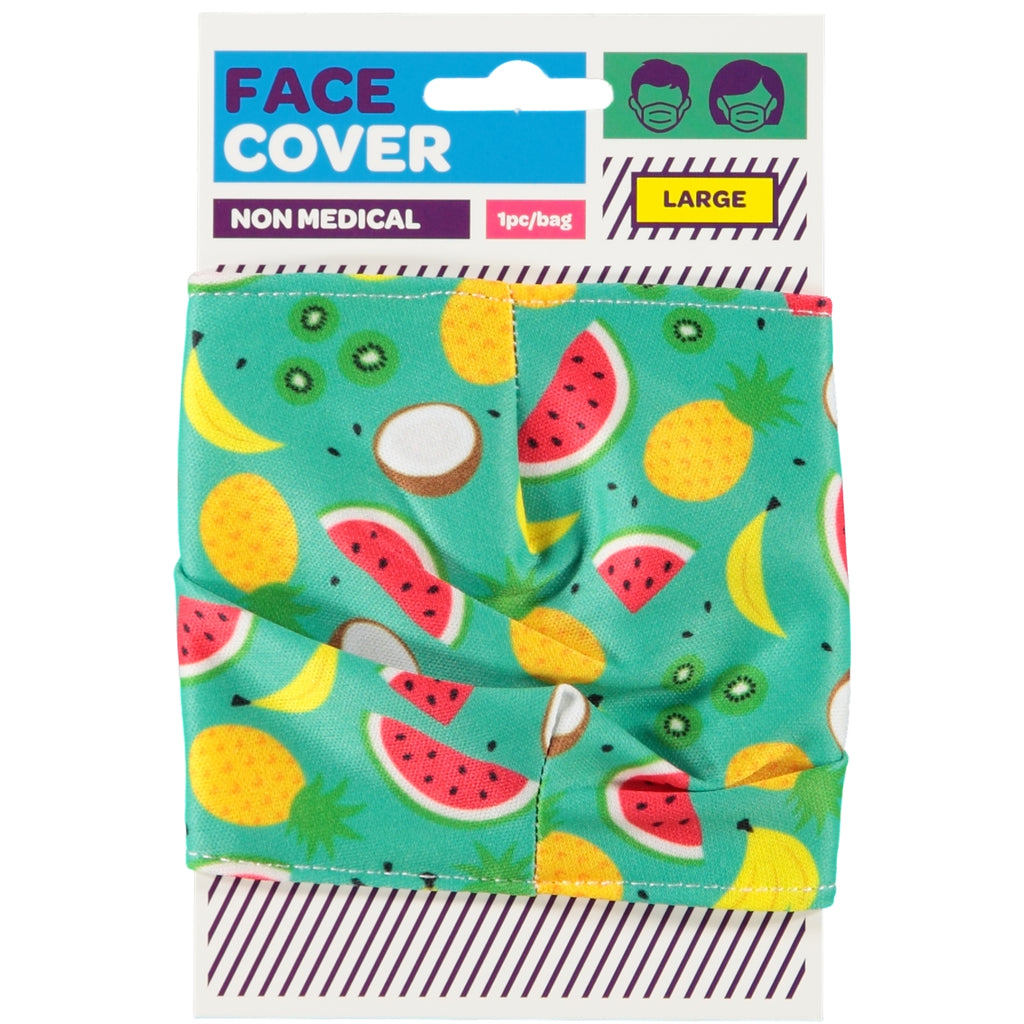 Tropical Reusable Face Covering - Adults