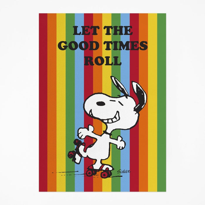 Magpie x Peanuts Good Times Tea Towel