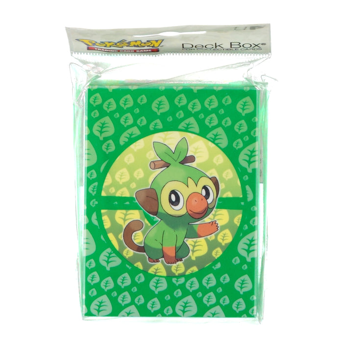 Pokemon TCG Sword & Shield Galar Starters Deck Box Grookey