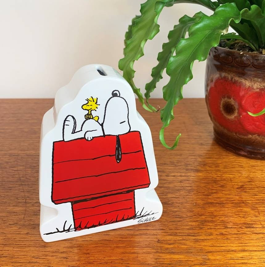 Magpie x Peanuts House Small Money Box