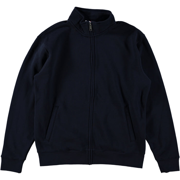 Russell Authentic Sweatshirt Jacket Oxford Navy