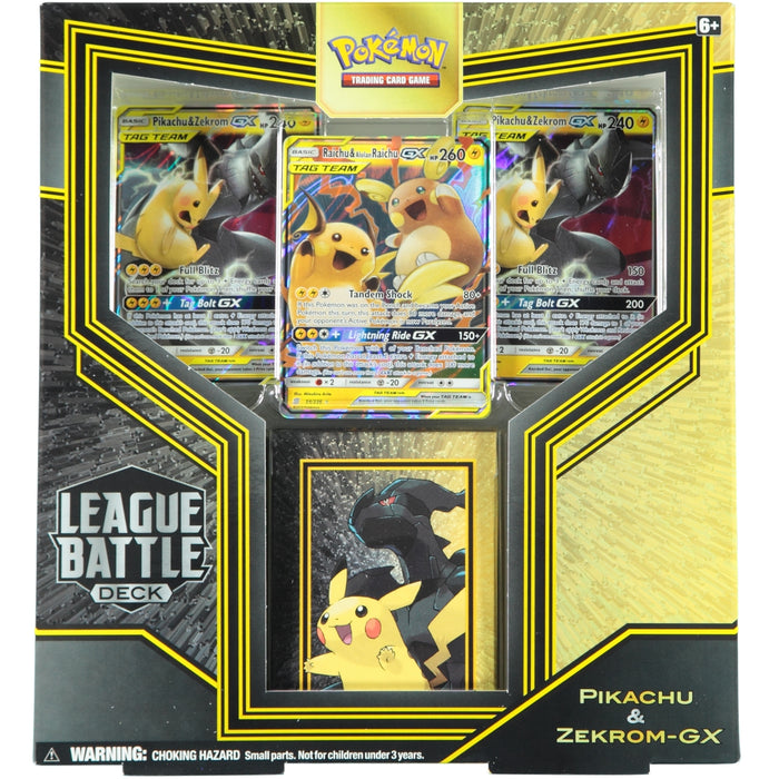 Pokemon TCG League Battle Deck Pikachu & Zekrom GX