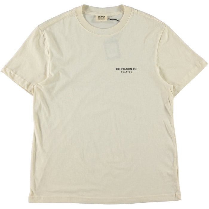 Filson SS Lightweight Outfitter T-Shirt Natural