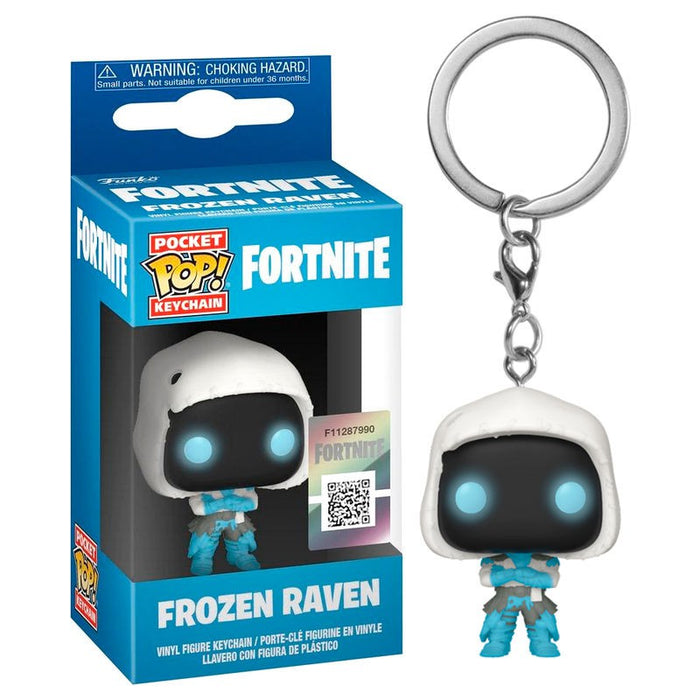 Funko Pocket Pop Keychain Fortnite Frozen Raven