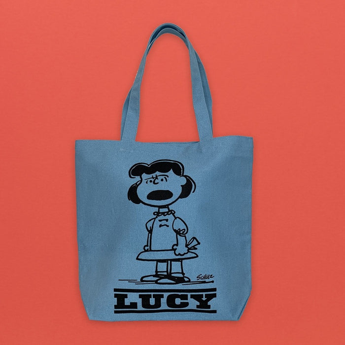 Magpie x Peanuts Heavy Duty Tote Bag Lucy