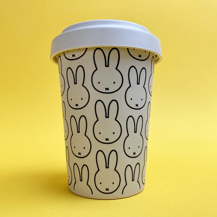 Magpie x MIffy Head Repeat Bamboo Coffee Cup
