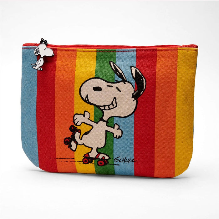 Magpie x Peanuts Zip Pouch Good Times