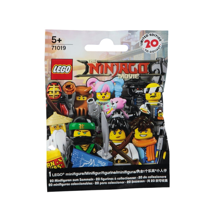 Lego Minifigures 71019 The Ninjago Movie