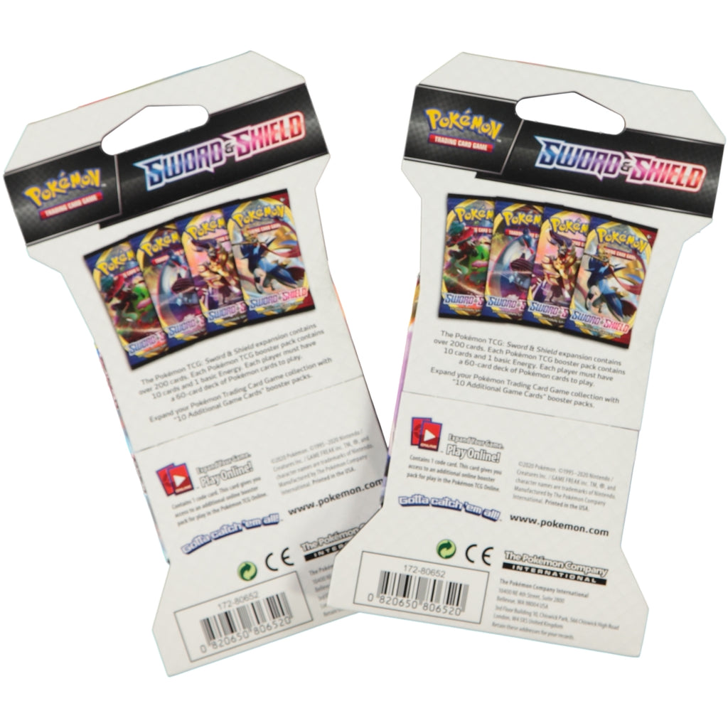 Pokemon TCG Sword & Shield Carded Booster Pack