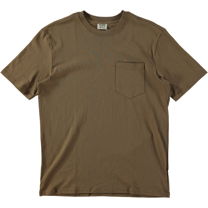 Filson S/S Outfitter Solid One Pocket T-Shirt Rugged Tan