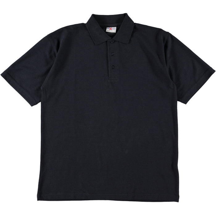 RTX RX100 Classic Poly Cotton Polo Shirt Navy