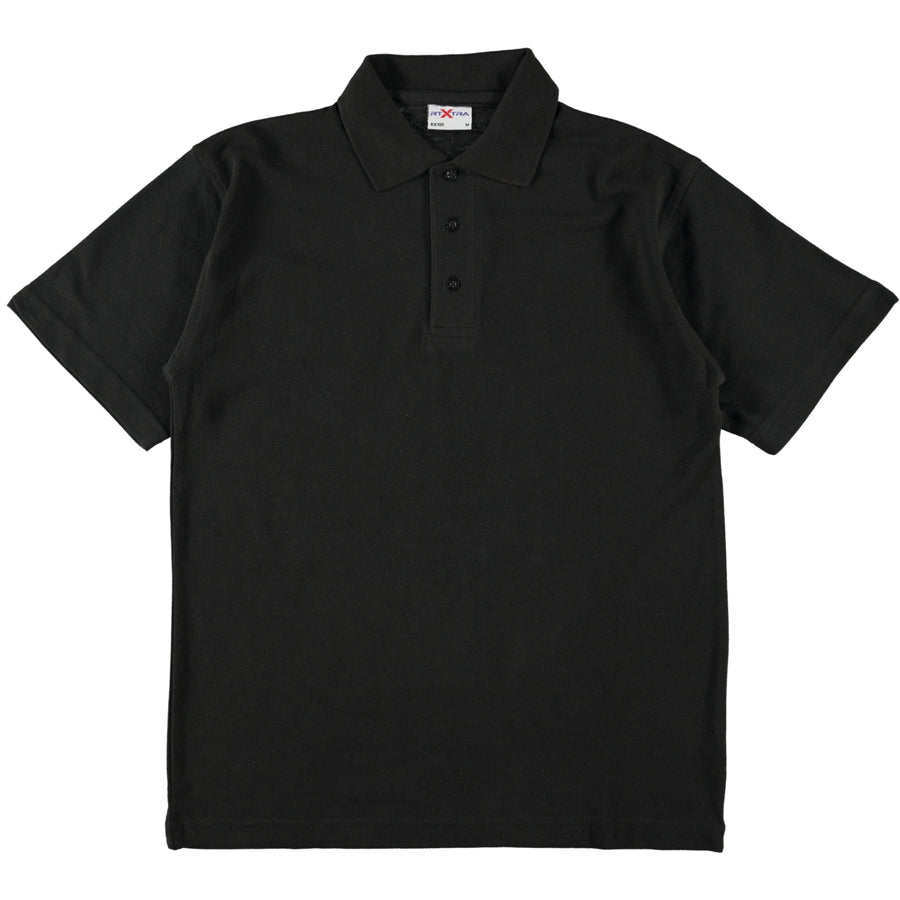 RTX Work Wear & Sportswear Classic Tough Polo Shirt Black