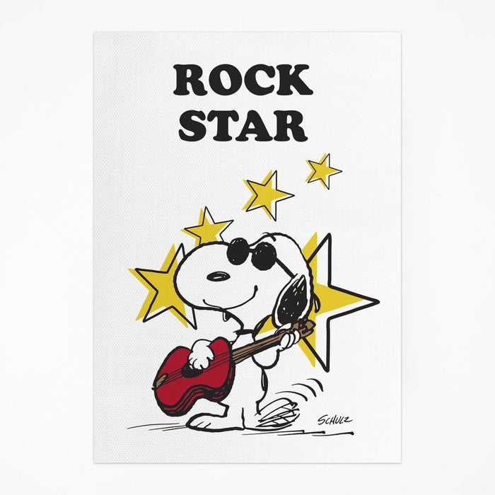 Magpie x Peanuts Rock Star Tea Towel