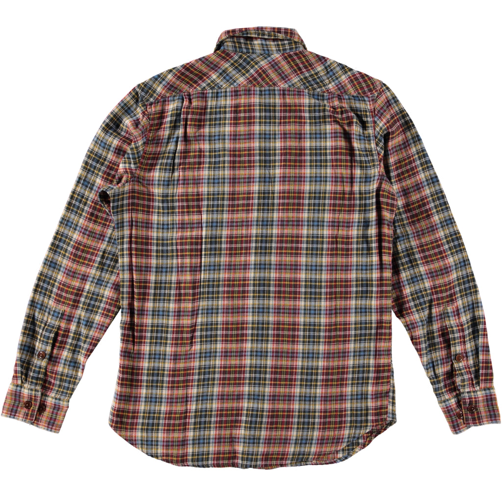 Filson Scout Shirt Black Red Cream Plaid