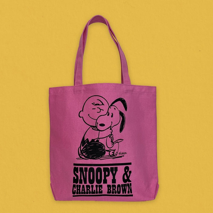 Magpie x Peanuts Heavy Duty Tote Bag Happiness Is A Warm Puppy