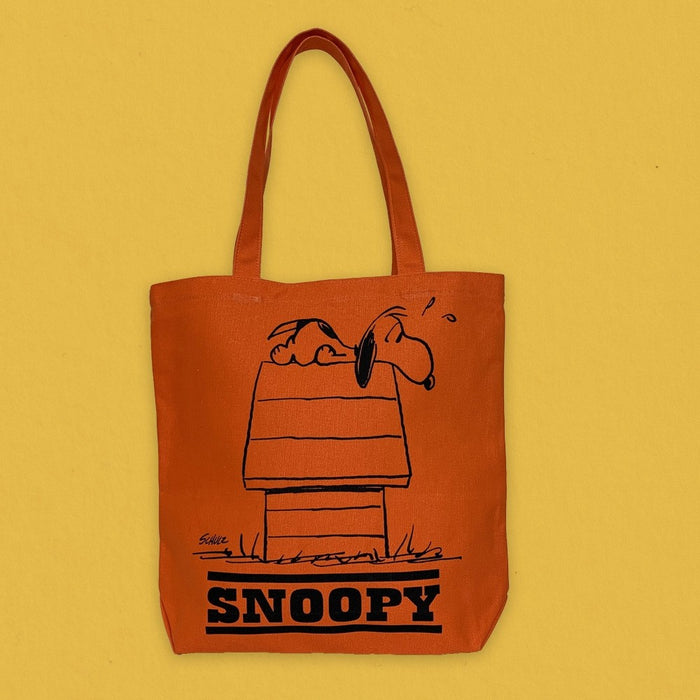 Magpie x Peanuts Heavy Duty Tote Bag Allergic To Mornings