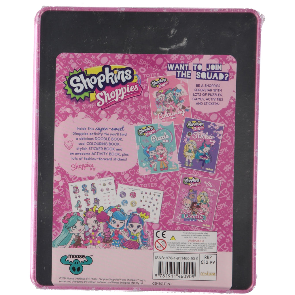 Shopkins Shoppies Sweet Is The New Cool Activity Tin