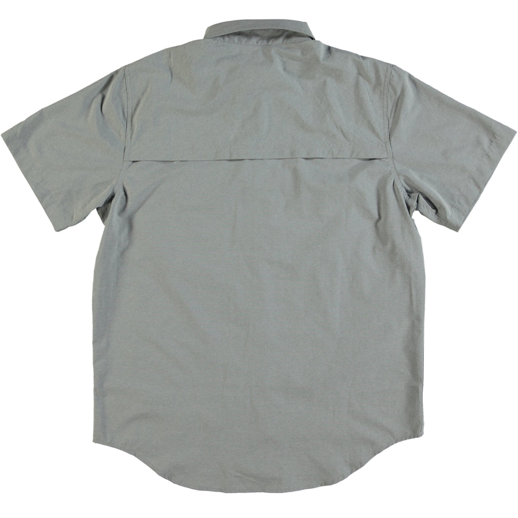 Filson Showroom Sample - Size M - Filson Twin Lakes Short Sleeve Sports Shirt Stone Blue