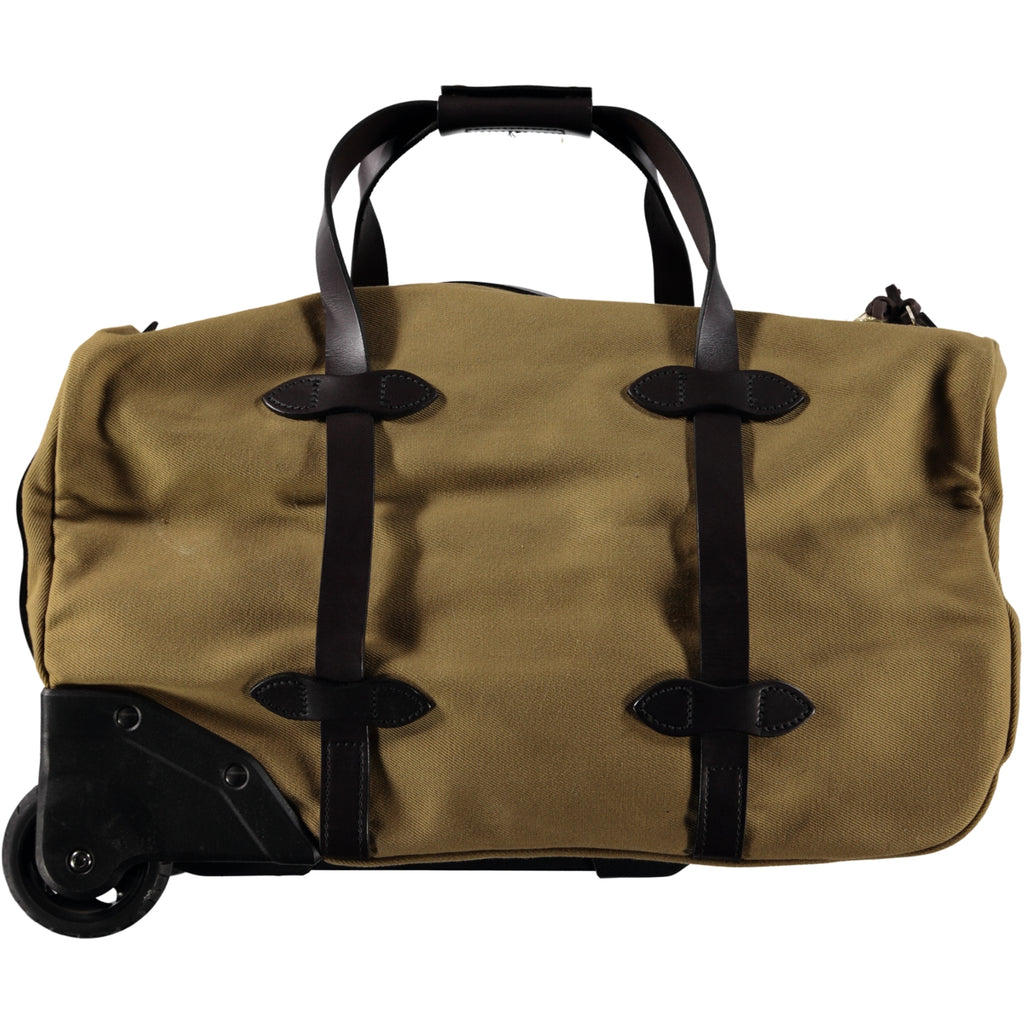 Filson Rugged Twill Rolling Duffle Small Tan