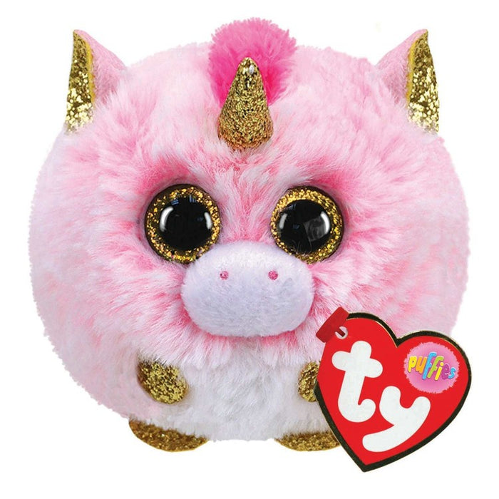 Ty Puffies Fantasia Unicorn