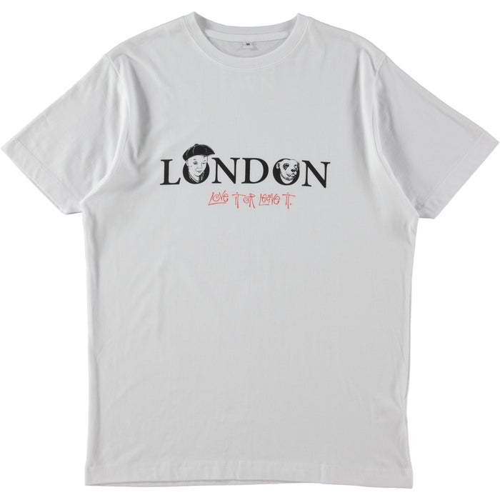 Boy's Own Productions London, Love It or Leave It Tee White